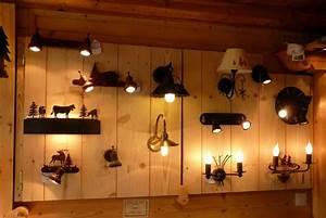Spot Mural Interieur : luminaires style montagne applique ~ Teatrodelosmanantiales.com Idées de Décoration