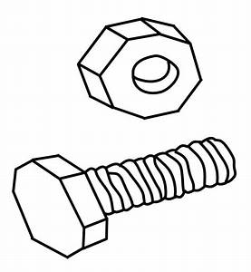 Nuts And Bolts Drawing At Getdrawings