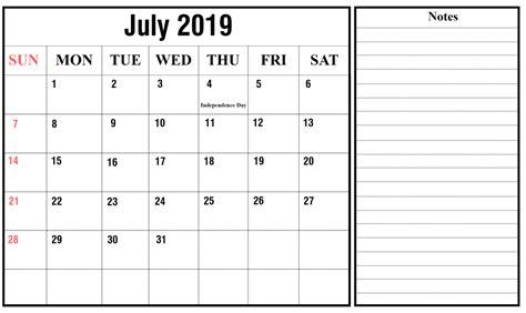 blank july calendar printable word excel printable