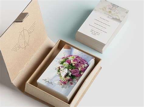 wedding photographer business card  photoshop psd