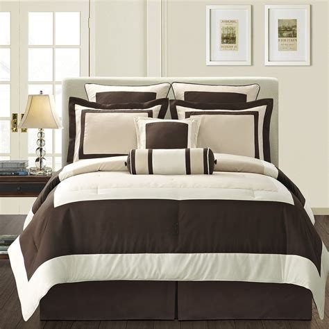 home design comforter cool comforter sets with modern brown and white motif