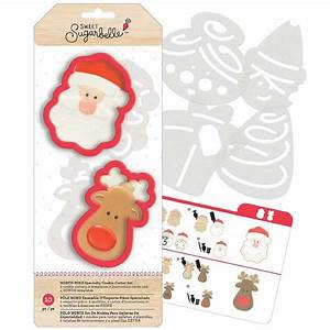 North Pole Cookie Cutter Stencil Set By Sweet Sugarbelle