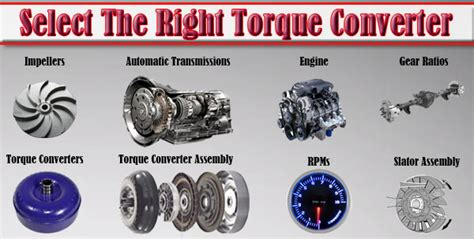How To Select The Right Torque Converter (w/ Pics & Video