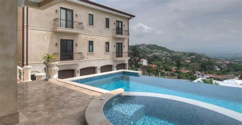 lavish  bedroom luxury home  sale escazu san jose