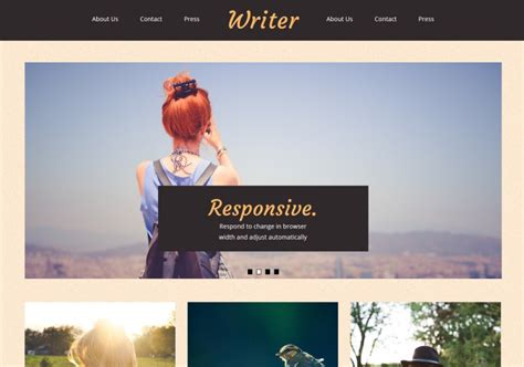 Writer Free by Writer Template Templates 2019