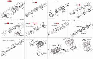 Transmission Repair Manuals Zf 6hp21