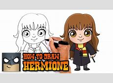 How to Draw Hermione Harry Potter YouTube
