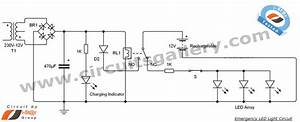 Led 12v Emergency Light Circuit Diagram