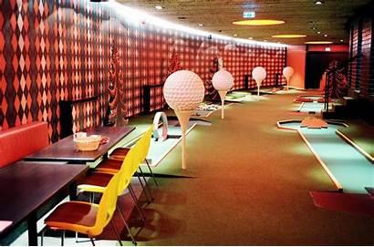 Minigolf Indoor Strand