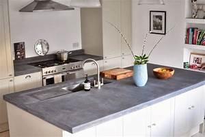 Arbeitsplatte Beton Cire : gesenkte akzente und details in der arbeitsplatte aus beton kitchen pinterest beton cir ~ Michelbontemps.com Haus und Dekorationen