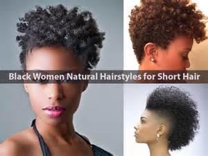 Natural Hairstyles Black Women Short Hair
