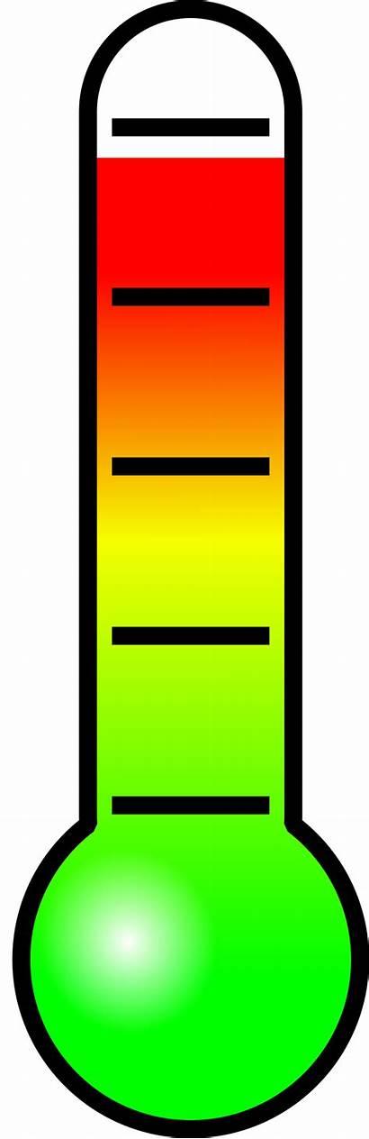 Thermometer Clipart Temperature Stress Temp