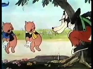 Youtube Les Trois Cochons : dessins anim s walt disney les trois petits cochons french ~ Zukunftsfamilie.com Idées de Décoration
