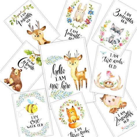 Capture all the special moments and milestones of your little love. Baby milestone cards by JourneytothepastShop on Etsy (mit Bildern)   Meilensteinkarten, Baby ...