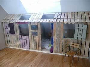 Lit Cabane Pour Enfant : lit enfant cabane et solutions originales pour fille et gar on ~ Teatrodelosmanantiales.com Idées de Décoration