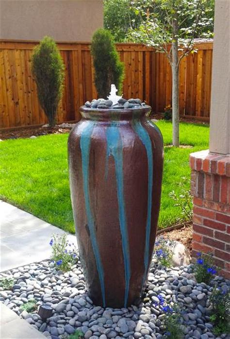 vega jar outdoor fountain denver  creative living