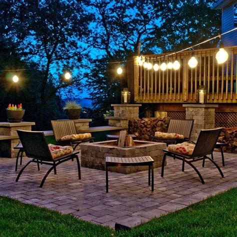 ideas create the ambiance with string patio