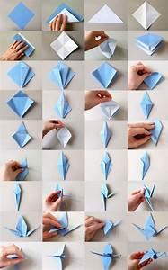 Origami Schmetterling Anleitung : wenn ich ein v glein w r origami kranich falten fraeuleinchen ~ Frokenaadalensverden.com Haus und Dekorationen