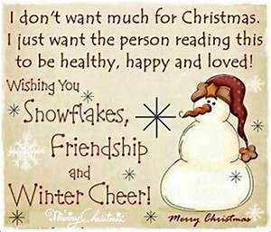 Christmas Friend Quotes Friendship. QuotesGram