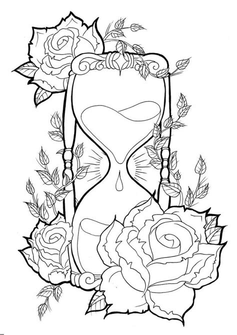 Hourglass Tattoos Designs, Ideas and Meaning   Tattoos For You