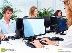 Young People Working Together In Office. Stock Photography ...