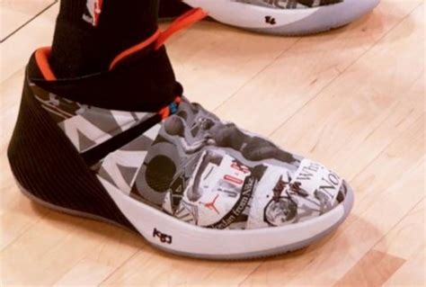 Thunders Russell Westbrook Drops Signature Shoes Asking