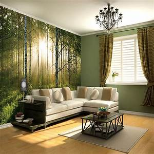 1 Wall Giant Wallpaper Mural Forest 3.15m X 2.32m