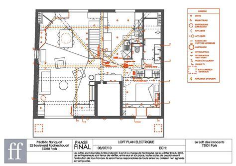 plan electrique cuisine aeccafe archshowcase