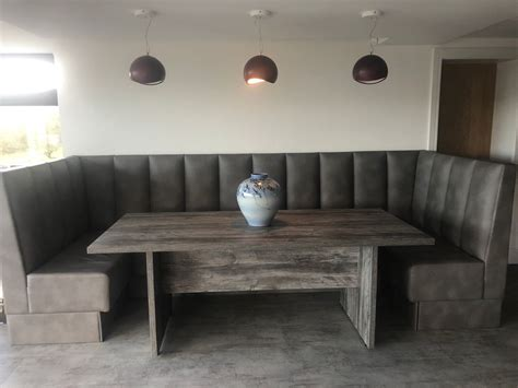 booth large dining table seating  harrogate