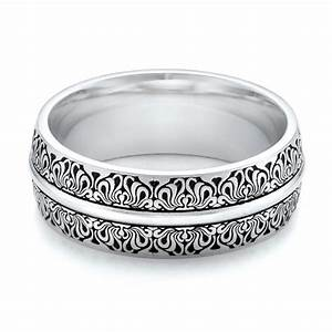 Women's Engraved Wedding Band #101059