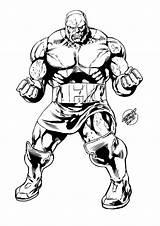 Darkseid Coloring Daredevil Sketch Template Dc Comics Drawings Deviantart Flash sketch template