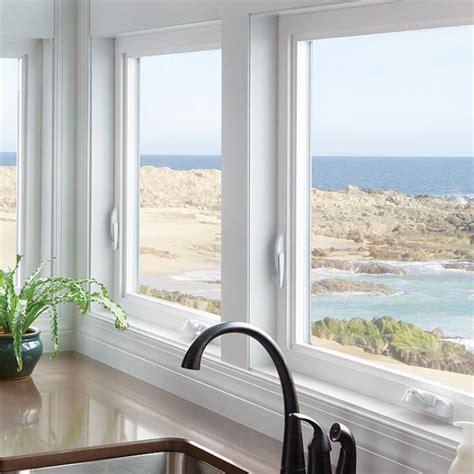 casement window wood vinyl fiberglass aluminum series milgard windows doors