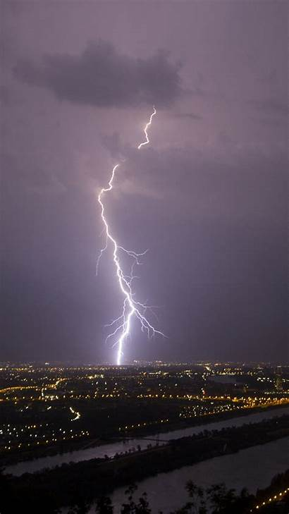 Lightning Strike Iphone Wallpapers Vienna Phone Cell