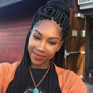42 Best Big Jumbo Braids Styles with Images - Beautified ...