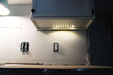 diy kitchen lighting upgrade led cabinet lights