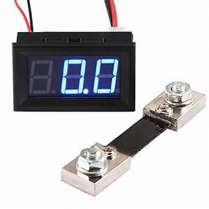 Drok Voltmeter Ammeter Volt Amp Multimeter Dc 4 5