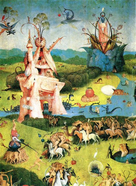 in the garden of earthly delights the garden of earthly delights detail 1490 1500