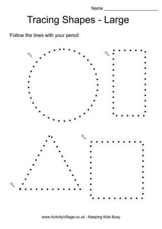 tracing shapes large tracing pages and lots more 845 | 750f5585894a4217254eca058ea1f92c