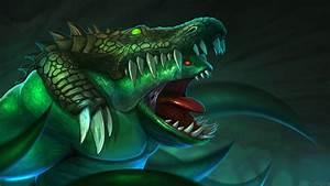 Tidehunter [Carnivorous Squamer] - DOTA 2 Wallpapers