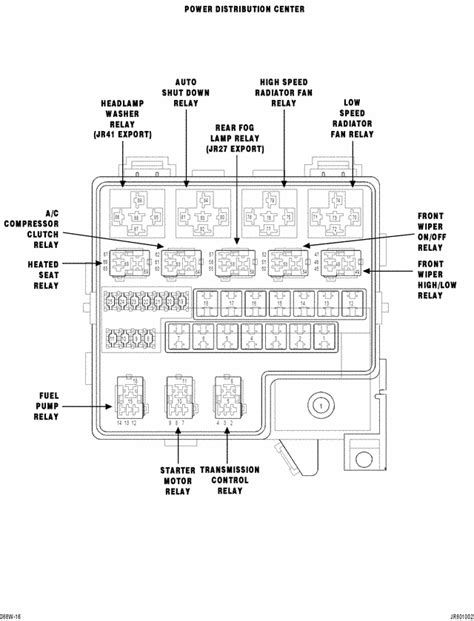2005 Chrysler Sebring Fuse Box Layout by 2006 Dodge Stratus 2 7 No Start Problem Replaced Battery