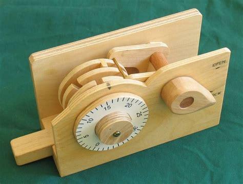 handmade wooden combination lock cnc pinterest