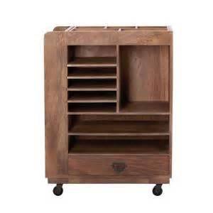 home decorators collection studio craft wood  wheeled