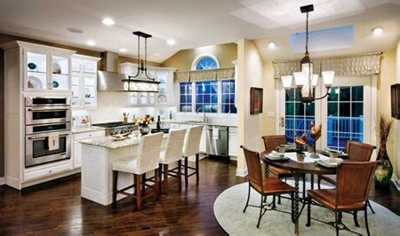 Toll Brothers Kitchen with Breakfast Nook in Holliston, MA