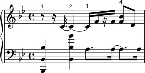Today's theory lesson will revolve around the measure (us) or bar (uk) both terms being acceptable, and follows on from the previous lesson on staffs so, a bar is a small section of music signified by a vertical line or lines written on the staff that divides it into equal note counts according to the time. theory - Imaginary bar line fixed - Music: Practice ...