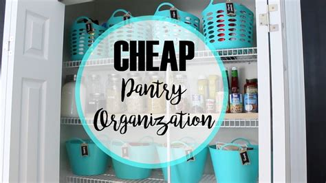 cheap kitchen organization how to organize a pantry cheap makeover 2113