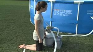 Filtre A Sable Bestway : filtre sable flowclear bestway fran ais youtube ~ Voncanada.com Idées de Décoration
