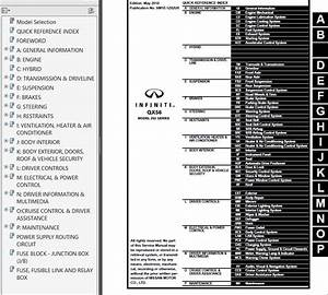 Nissan Infinity Qx56 Model Z62 Series Service Manual Pdf