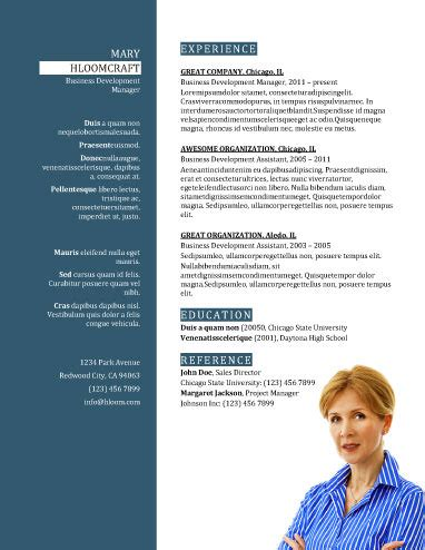 new trends in assistant resume template 2017
