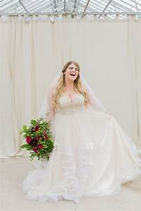 shopping for a plus size wedding gown can be intimidating With wedding dresses for curvy brides