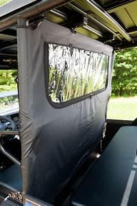 Rear Soft Dust And Window Panel  U2013 Kawasaki Mule Pro Fx  Fxt